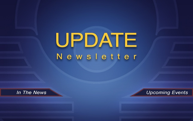 "The text ""Update Newsletter"" on top of the NTP Logo"
