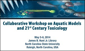 Collage used for publicity materials for the aquatic tox workshop
