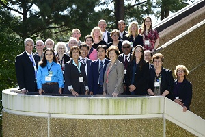 Group photo from September 2014 SACATM meeting