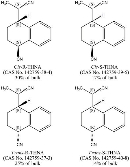 THNA form consists of four stereoisomers