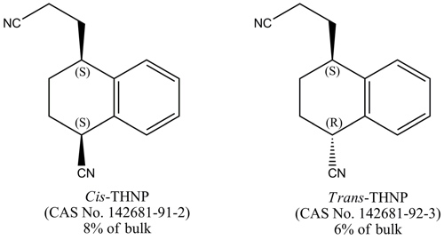 THNP form consists of two stereoisomers